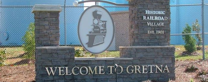 "Welcome to Gretna, Virginia | ""Ain't no big thing, but it's"
